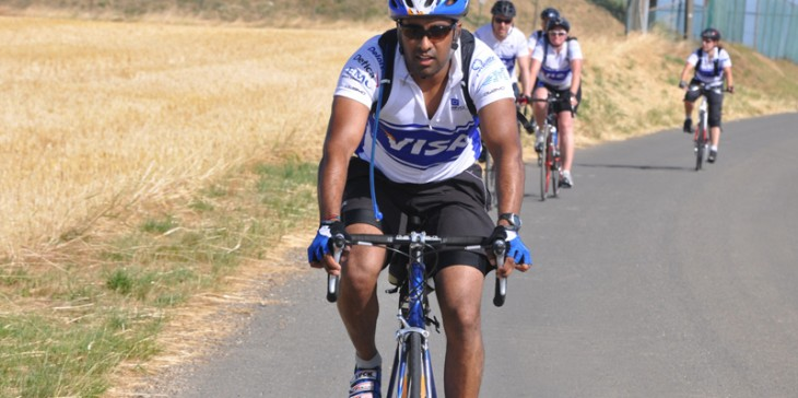 Visa Corporate Bike Ride